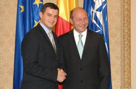 Traian Basescu l-a propulsat pe ucraineanul Eugen Tomac in functia de presedinte interimar al Miscarii Populare
