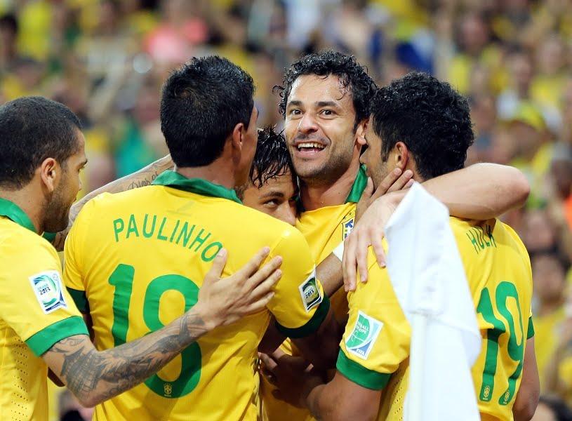 Brazilia a castigat Cupa Confederatiilor, dupa ce a invins selectionata Spaniei cu 3-0!