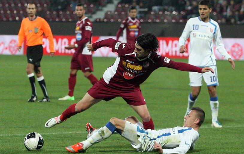 CFR Cluj se incurca cu FC Botosani, scor 0-0, desi a avut superioritate numerica 80 de minute! VIDEO