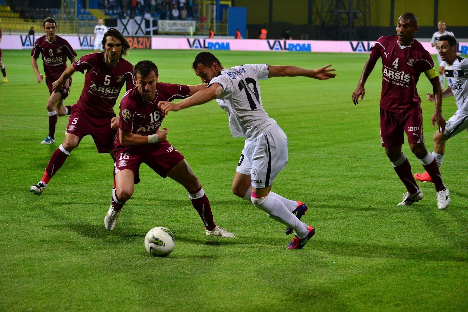 FC Rapid ramane in LIGA I dupa ce a invins Concordia Chiajna cu scorul de 2-1!