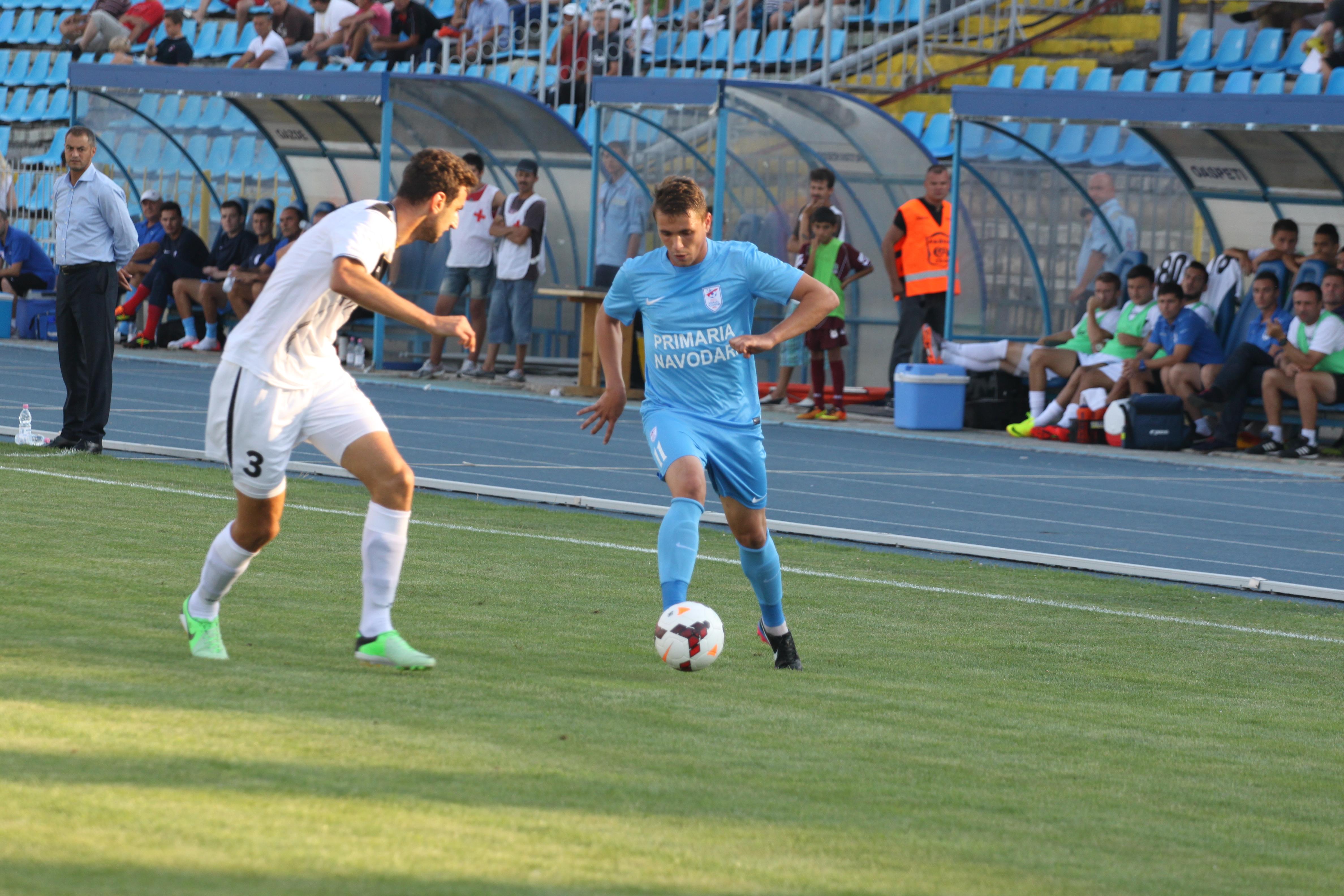 Nou-promovata Sageata Navodari a debutat cu victorie in Liga I, scor 1-0, cu Gaz Metan Medias! VIDEO