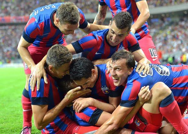 Steaua invinge cu 2-0 pe Dinamo Tbilisi, in prima mansa a turului III preliminar al Ligii Campionilor si este cu un picior in playoff!