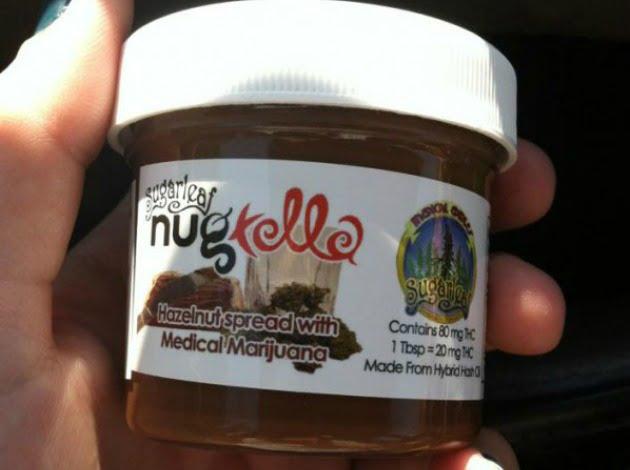 O firma californiana va lansa Nugtella, o crema tartinabila pe baza de canabis!