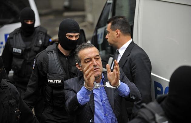 Cererea lui Gigi Becali de intrerupere a executarii pedepsei a fost respinsa de judecatori!