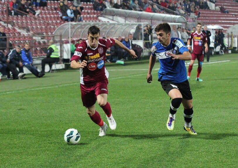 CFR Cluj invinge chinuit pe Viitorul Constanta, scor 2-1! VIDEO