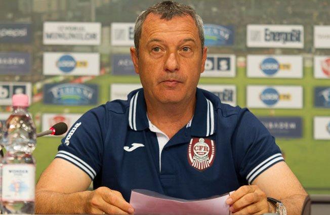 Rednic a demisionat de la CFR Cluj