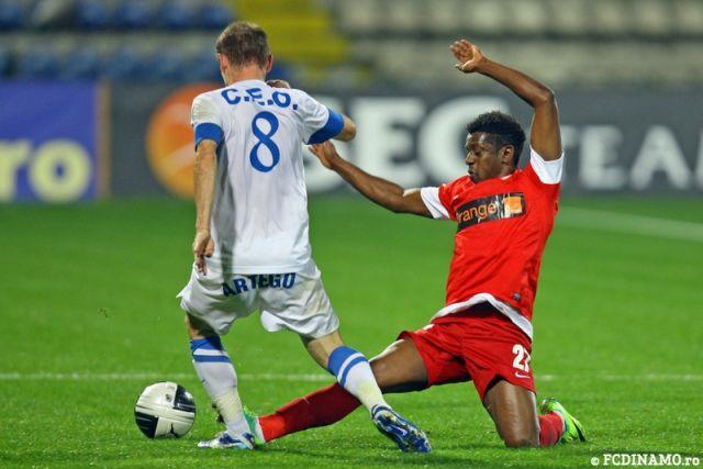 Pandurii Targu Jiu a invins cu scorul de 2-1 pe Dinamo Bucuresti! VIDEO