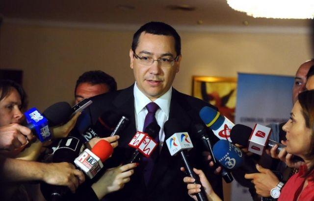 Ponta: Ma intereseaza doar problemele guvernamentale, nu scandalurile cu Crin sau Basescu!