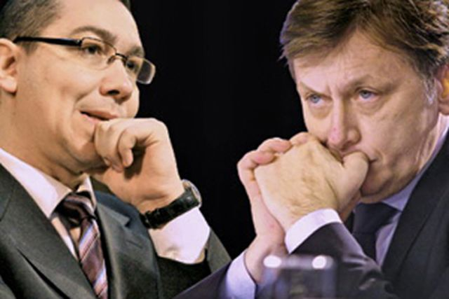 Solutia lui Crin si Ponta pentru scandalurile din USL!