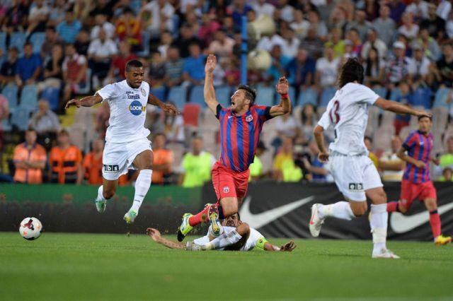 Steaua a invins pe ACS Poli Timisoara cu scorul de 3-0! VIDEO