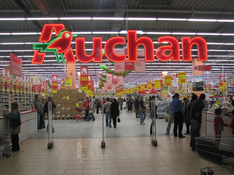 Toate hipermarketurile Real vor deveni Auchan in mai putin de un an!