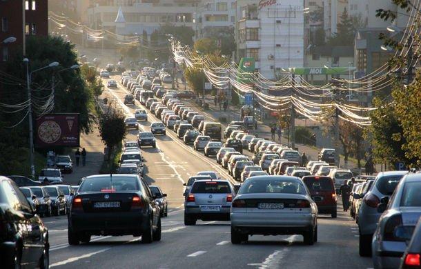Parcul auto al Romaniei a crescut cu 172%, din 1989 pana in 2013!