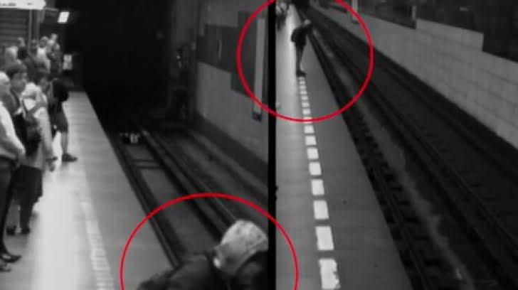 Un barbat s-a aruncat in fata metroului, la statia Stefan cel Mare, mecanicul reusind sa franeze la timp!
