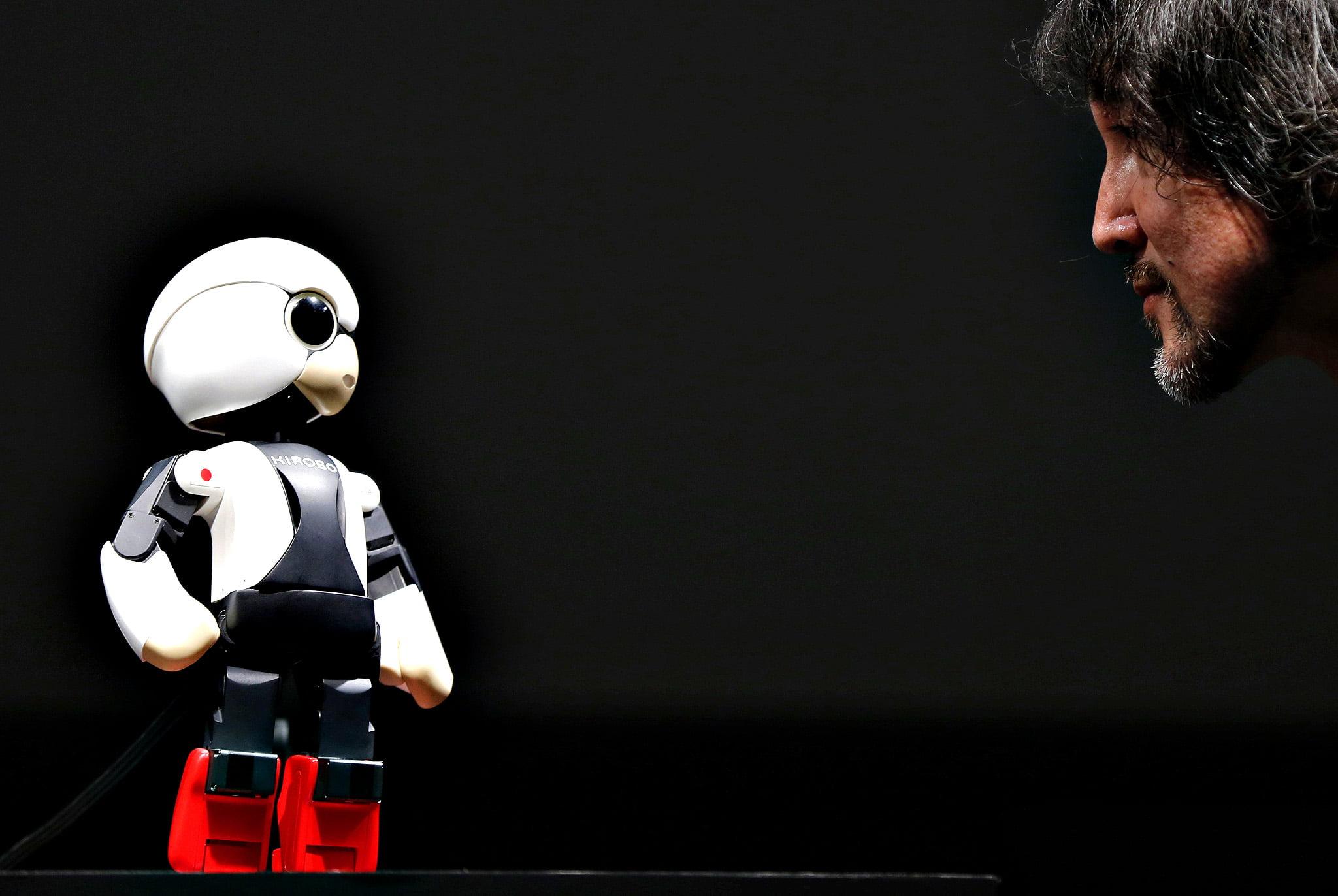 Kirobo, primul robot astronaut din lume a vorbit pentru prima oara in spatiu! VIDEO