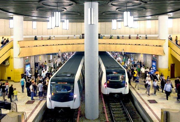 Secene MACABRE la metrou: Un om S-A ARUNCAT pe sine!
