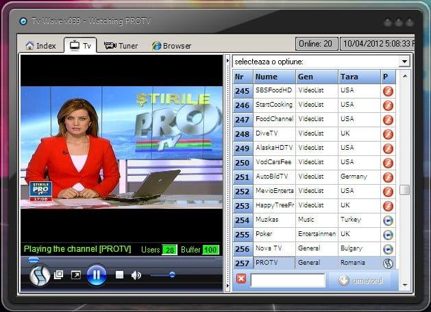 Cum sa urmaresti posturi TV gratis de pe calculator