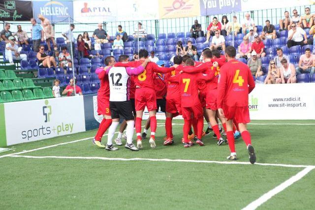Romania, campioana europeana pentru a patra oara la minifotbal!