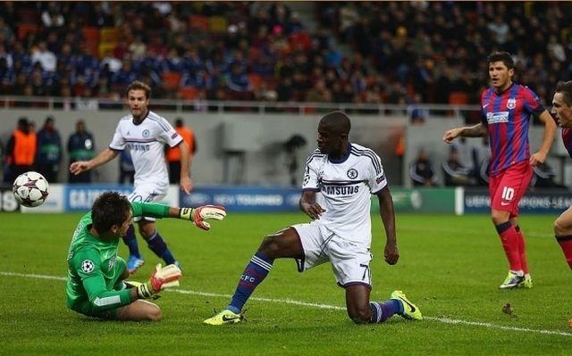 Steaua a fost invinsa de Chelsea, scor 0-4! VIDEO