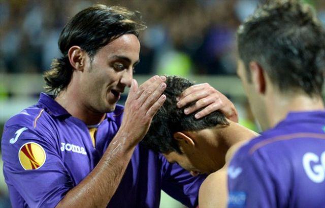 Pandurii Targu Jiu a fost invinsa de Fiorentina cu scorul de 3-0, in Liga Europa! VIDEO