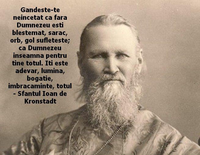 citate despre imbracaminte Sfântul Ioan de Kronstadt – stirea zilei citate despre imbracaminte