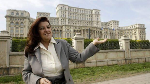 Arhitecta Casei Poporului, Anca Petrescu, a murit la varsta de 64 de ani!