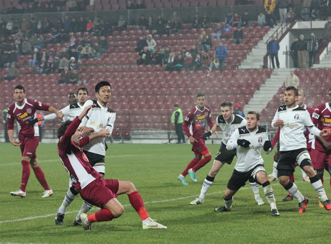 CFR Cluj – Astra Giurgiu, scor 0-0, in Liga I