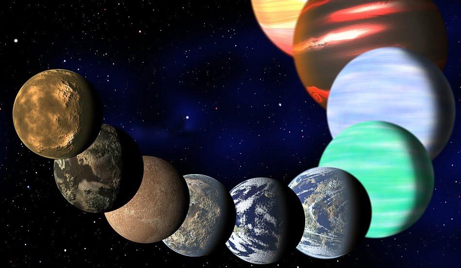 Astronomii au descoperit un nou SISTEM SOLAR, compus din sapte planete!