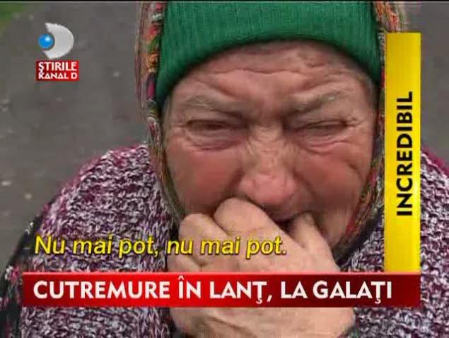 Peste 100 de CUTREMURE in ultimele 12 zile in zona Galati! Localnicii au ajuns la disperare!