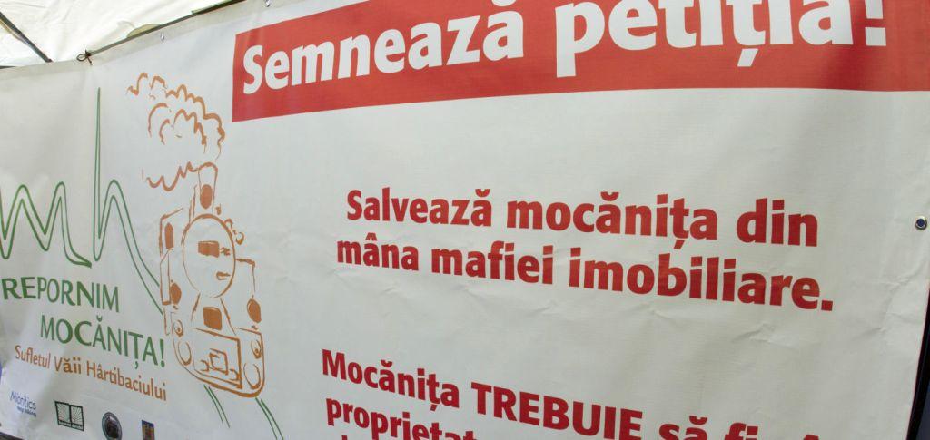 Actiune de strangere de semnaturi pentru repunerea in functiune a Mocanitiei din Valea Hartibaciului, la Universitatea din Bucuresti