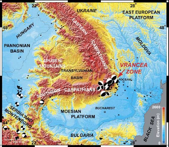 Un cutremur major va avea loc in Romania pana in 2015, estimeaza cel mai bun serviciu de monitorizare a cutremurelor din lume!