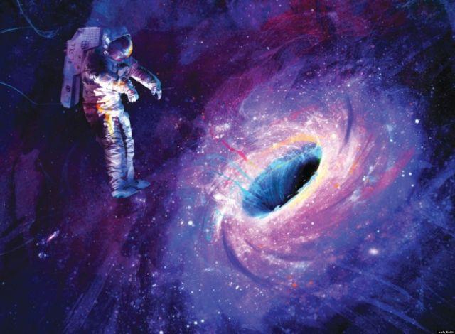 Inca un MISTER DEZLEGAT: Gaurile negre expulzeaza jeturi alcatuite din atomi grei de fier si de nichel!