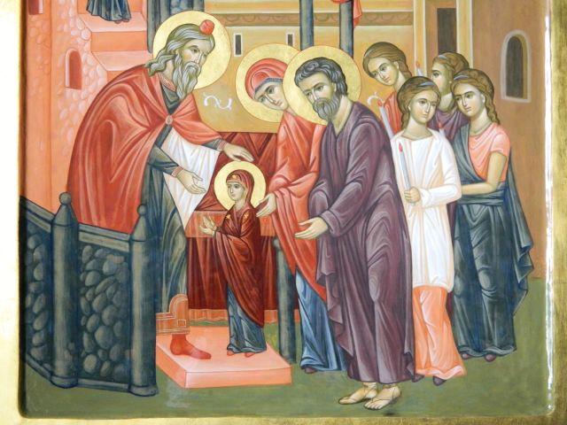 Traditii, obiceiuri si superstitii: Intrarea in Biserica a Maicii Domnului! VIDEO