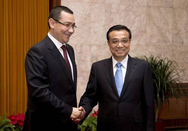 Politeturile premierului Chinei: Romania va deveni tigru economic al Europei