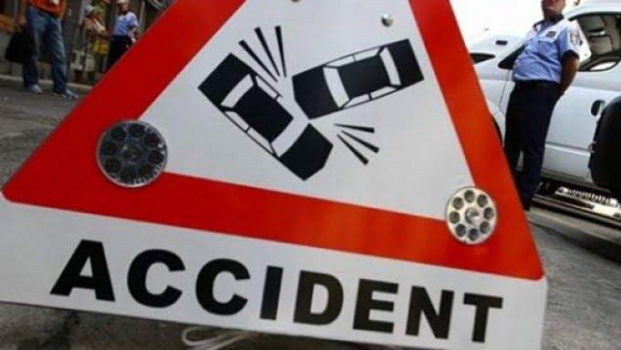 Accident in Capitala cu o masina a Ambasadei Ucrainei!