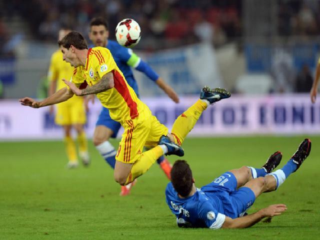 Romania a terminat la egalitate cu Grecia 1-1 in barajul de calificare pentru Brazilia 2014