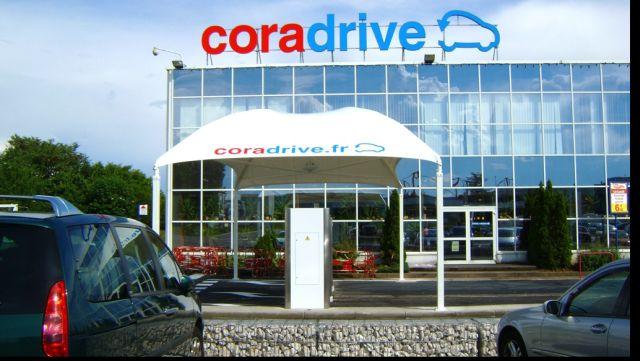 Retailerul Cora si-a lansat primul drive din Romania!