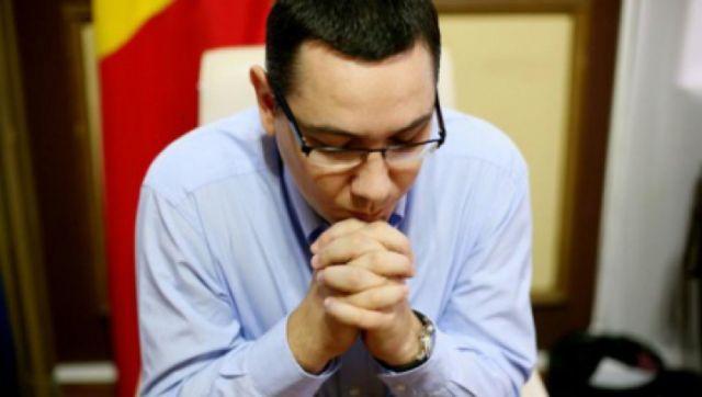 Ponta: Romania are nevoie de doua simboluri, biserica si armata, pentru a tine calea dreapta!