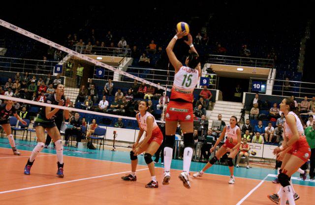 Dinamo Bucuresti a fost invinsa la Sopot, scor 3-1, in LC la volei feminin!