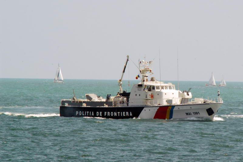 Garda de Coasta a interceptat in judetul Constanta o AMBARCATIUNE cu 29 de migranti din Orientul Mijlociu!