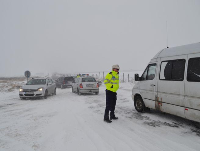 Drumul national DN 2 cuprins intre localitatile Urziceni si Focsani a fost inchis