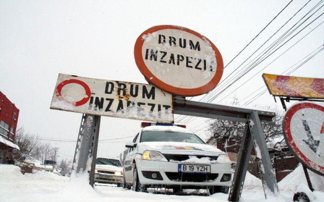 Traficul rutier va fi inchis pe mai multe drumuri nationale! Vezi aici sectoarele inchise!