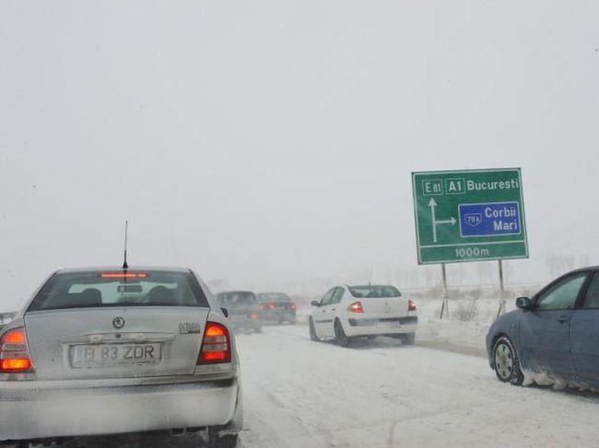 Se deschide circulatia pe Autostrada A1 Bucuresti – Pitesti pentru toate categoriile de vehicule