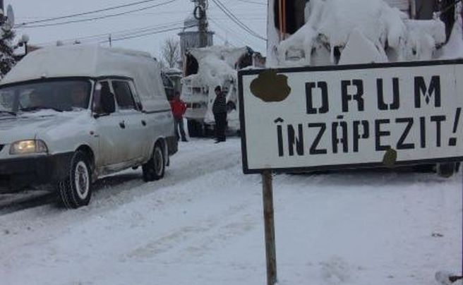 Drumul national DN 3B Festesti – Chirana a fost inchis