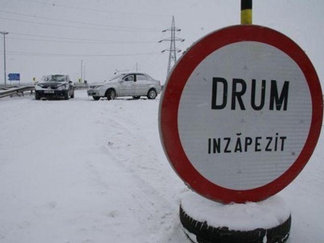 Circulatia rutiera a fost inchisa pe drumul national DN 21 Baraganu – Slobozia