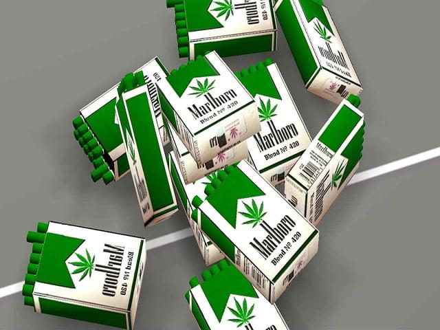 Phillip Morris va produce tigari cu marijuana Malboro!