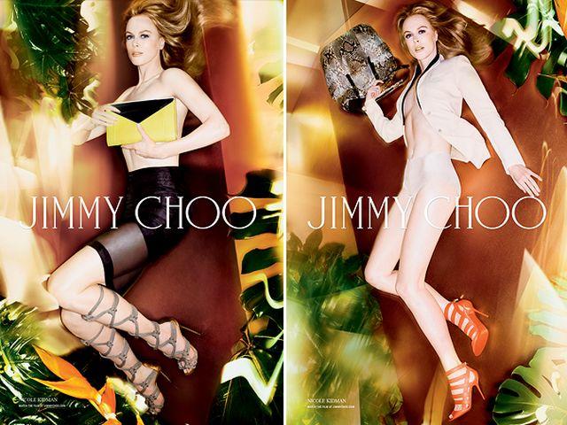 NICOLE KIDMAN s-a dezbracat TOPLESS pentru JIMMY CHOO!