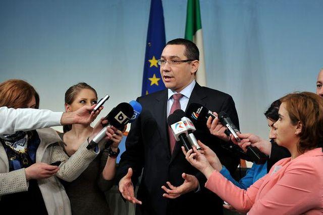 Victor Ponta, primit de Papa Francisc!