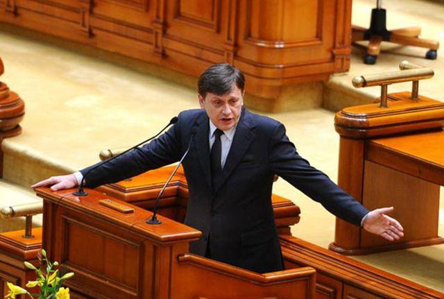 CIRC in Parlament: Antonescu A DEMISIONAT din functia de presedinte al Senatului!