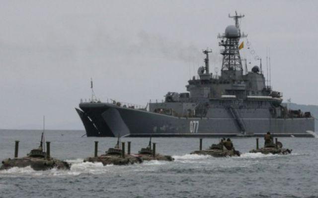 Nave militare ruse au efectuat exercitii cu munitie reala in Marea Baltica!