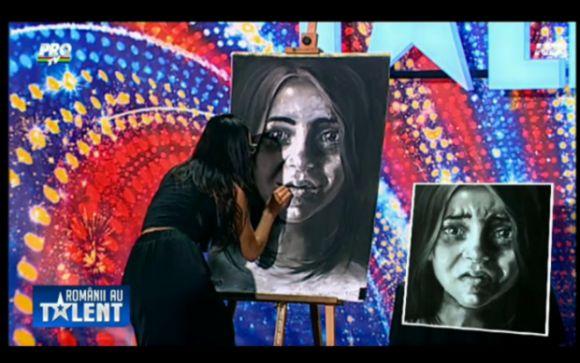 Moment EMOTIONANT la Romanii au Talent: Vezi ce a reusit o concurenta cu talentul ei! VIDEO